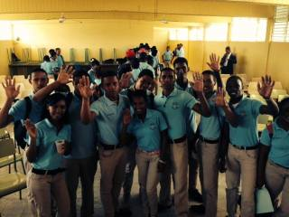 Students @ Dominican Republic 2014