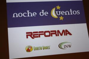 INW co-sponsored Noche de Cuentos